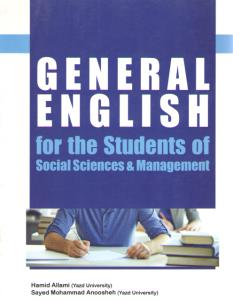 GENERAL ENGLISH for the students of
