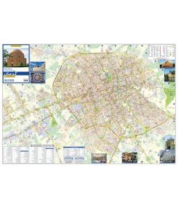 نقشه سیاحتی و گردشگری استان کرمان