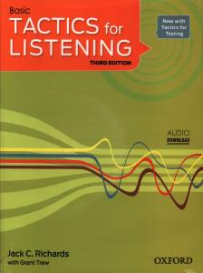 BASIC TACTICS for LISTENING +CD (تک جلدی)