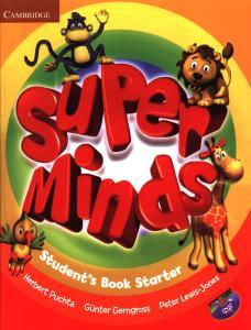 starter Super Minds دوجلدی SB+WB+CD