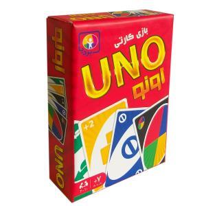 + بازی کارتی انو UNO جعبه ای 129