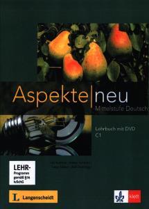 Aspekte neu CD C1 lehrbuch mit DVD + Arbeitsbuch CD دو جلدی