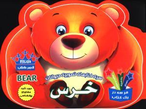 سری کتابهای تصویری حیوانات خرس داستان رنگ آمیزی فعالیت و سرگرمی