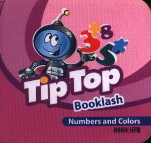 کتاب فومی Tip top BOOKlash Numbers and Colors