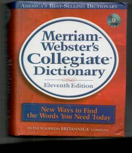 merriam websters collegiate dictionary+cd