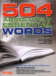 504  ABSOLUTELY ESSENTIAL WORDS+cd