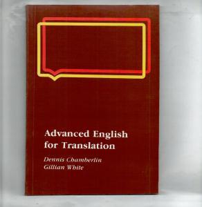 Advanced English for Translation