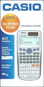 ماشین حساب مهندسی FX-991 es plus